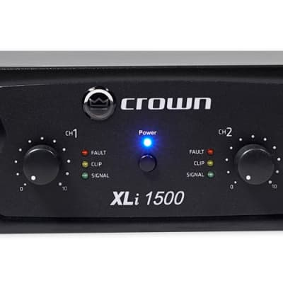 Crown XLi1500 2-Channel 45-Watt Power Amplifier