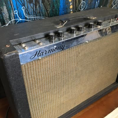 Harmony 415 tube amp combo Vintage 1960s for sale