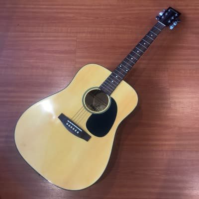 Suzuki SDG10 Natural Finish Dreadnought Acoustic Guitar for sale