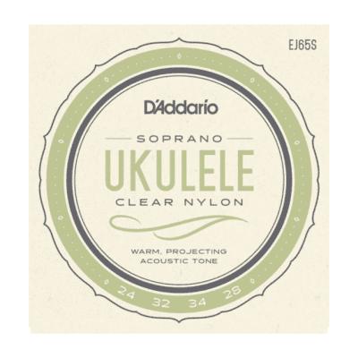 D'Addario EJ65S Pro-Arté Custom Extruded Ukulele, Soprano