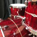 Tama drums sets Star Bubinga Dark Red Cordia 22, 16, 13