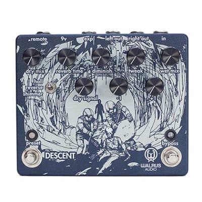 Walrus Audio Descent Reverb/Octave Machine Guitar Pedal for sale