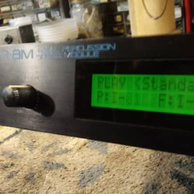 Roland R-8M Total Percussion Sound Module 1980s. 100% Tested and Working!