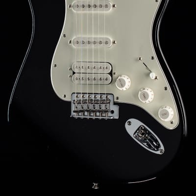 Fender Standard Stratocaster HSS Black Pau Ferro (993) for sale
