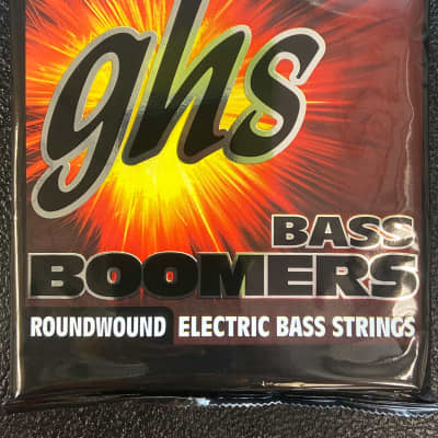 GHS Bass Boomers Roundwound Electric Bass Strings Long Scale Plus ML3045X 45-100