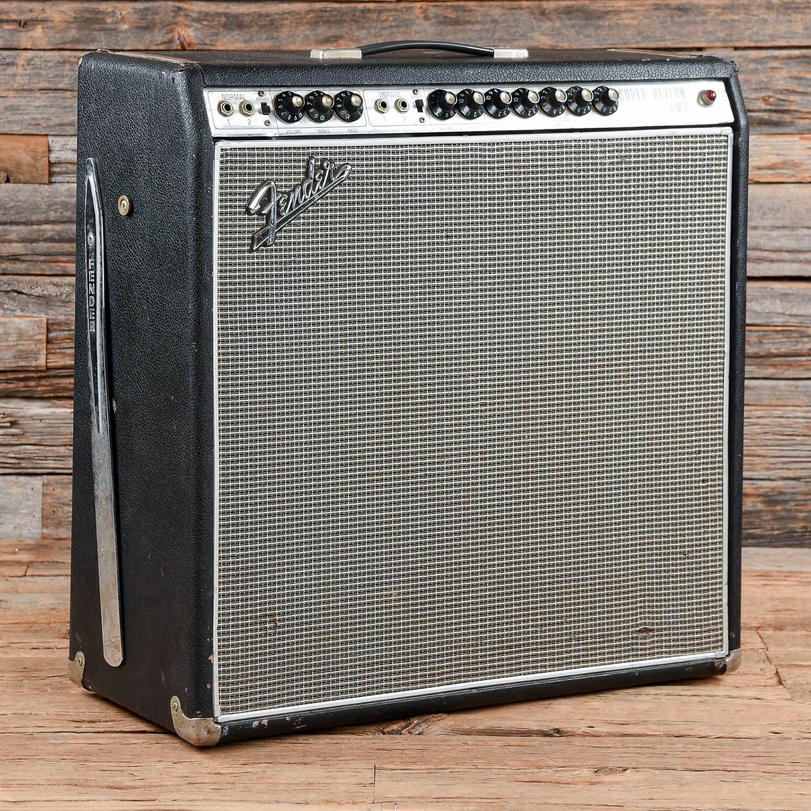 Fender Super Reverb Amp W Footswitch 1968 S287
