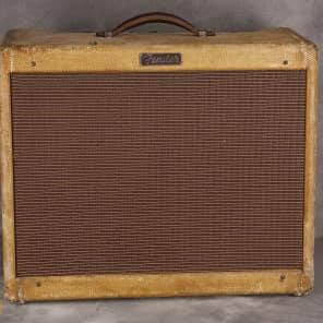 """Fender Super 5E4 Narrow Panel 18-Watt 2x10"""" Guitar Combo 1955"""