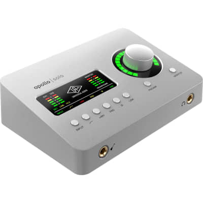 Universal Audio Apollo Solo Heritage Edition - Thunderbolt 3 Audio Interface with UAD DSP