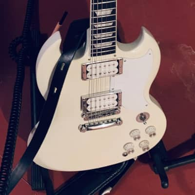 Gibson SG Gold Standard (in Nickel) w/Fralin Pure PAFs and locking tuners
