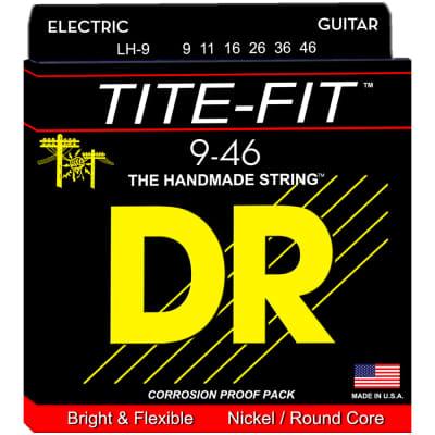 DR Strings LH-9 Tite-Fit Nickel Electric Light-N-Heavy 9-46
