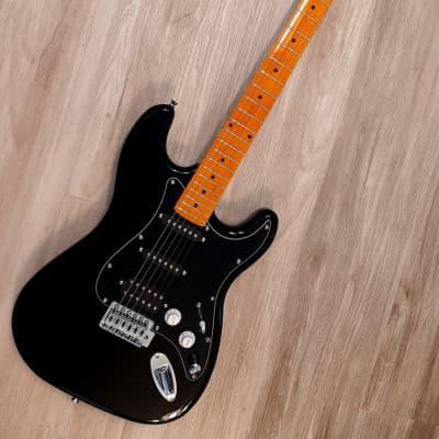 Elite® Stratocaster Style Guitar Turbo w/Blender MOD Black Classic Strat HSS LTD for sale