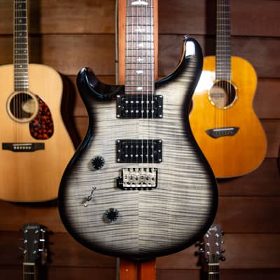 PRS SE Custom 24 Left-Handed - Charcoal Burst for sale