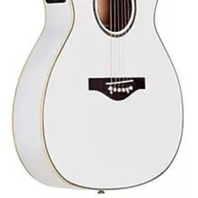 Daisy Rock DR6274 Wildwood Artist 6 String Acoustic-Electric Guitar - Pearl White for sale