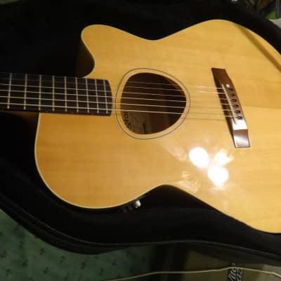 Kramer Ferrington JS-2 Jumbo Acoustic / Elec *rare*  w/  Pro-Tec Hard Case 1990-91 natural blonde for sale