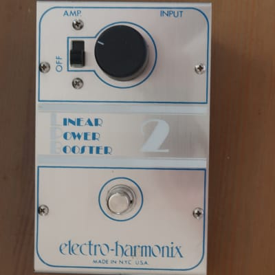 Electro-Harmonix Linear Power Booster 2, Made in USA