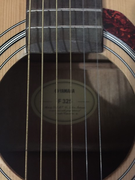 yamaha f325. yamaha f325 dreadnought acoustic guitar natural