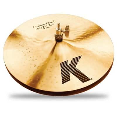 "Zildjian 14"" K Series Custom Dark Hi-Hat Cymbal Pair"
