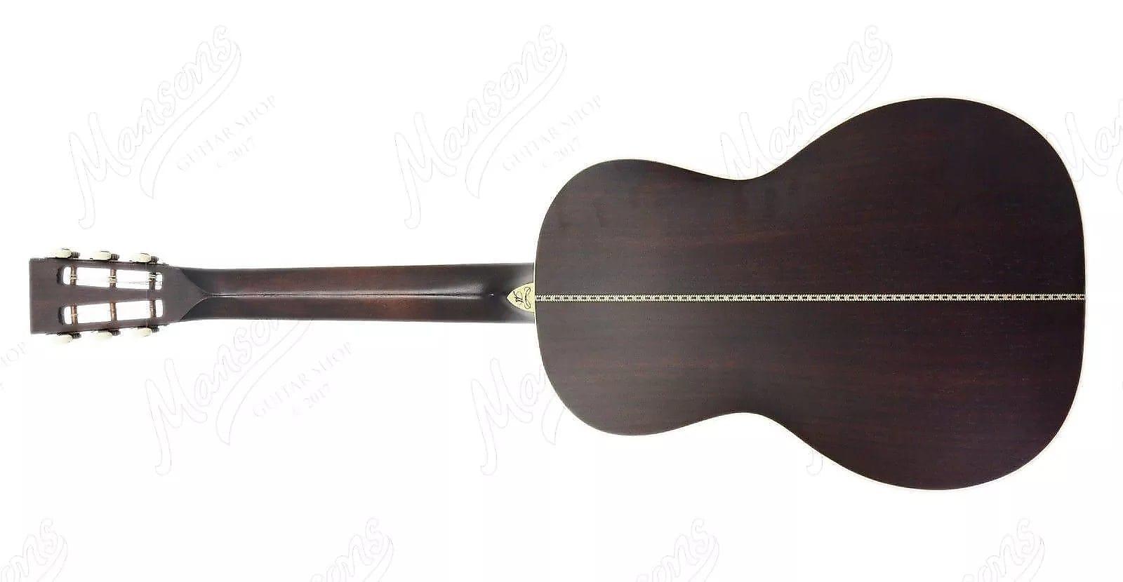 Washburn R320swrk Vintage Parlor 6 String All Solid Acoustic Guitar