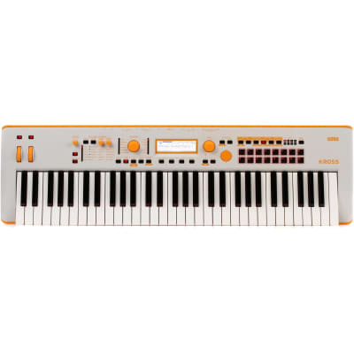 Korg Kross 2 61-Key Limited Edition Synthesizer Workstation - Orange