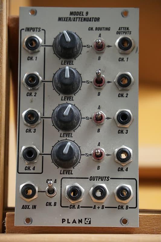 Plan B Model 9 Mixer Attenuator 14hp Eurorack Module