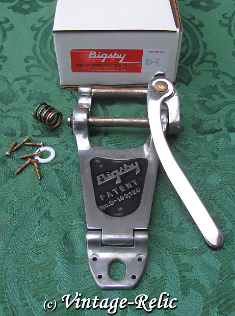 Aluminum P-GB7-A Bigsby B7 Guitar Vibrato For Arch Top Electrics