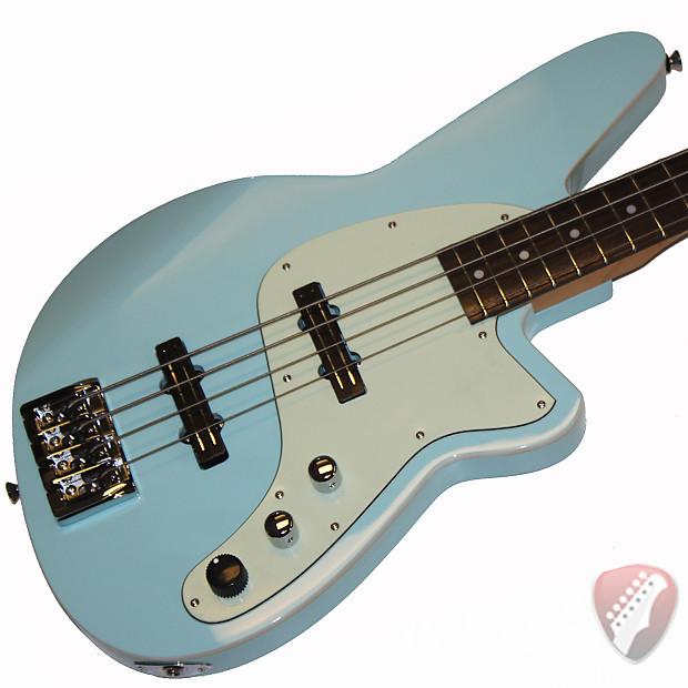 reverend justice iii bass guitar in chronic blue reverb. Black Bedroom Furniture Sets. Home Design Ideas