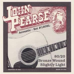 John Pearse Strings Acoustic Strings 80/20 Bronze Slightly Light 11-50