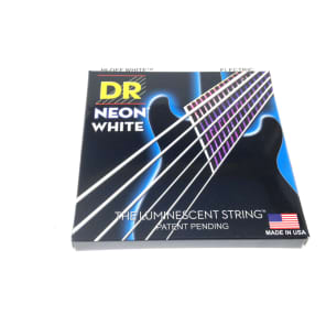 DR Strings Guitar Strings Electric Neon White 11-50 Heavy