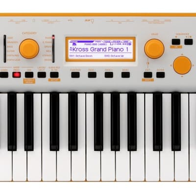 Korg KROSS 2 Special Edition Neon 61-Key Synthesizer Workstation - Orange