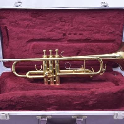 King Student Model 600 Bb Trumpet Brass