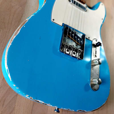 S71 Custom Shop « T » rare TAOS TURQUOISE '62 RELIC, Handwound 60's Pickups. Made in USA for sale