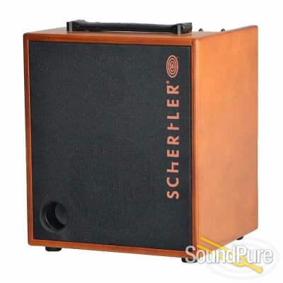 Schertler David 100W 3-channel Acoustic Amp (Wood) for sale