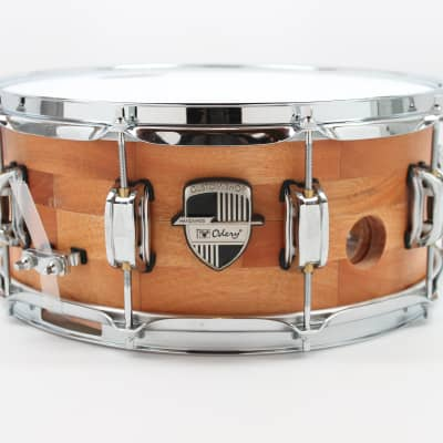 Odery Snare Drum 14 x 6.5 - Maple / Nyatoh, 26 ply, Natural Finish