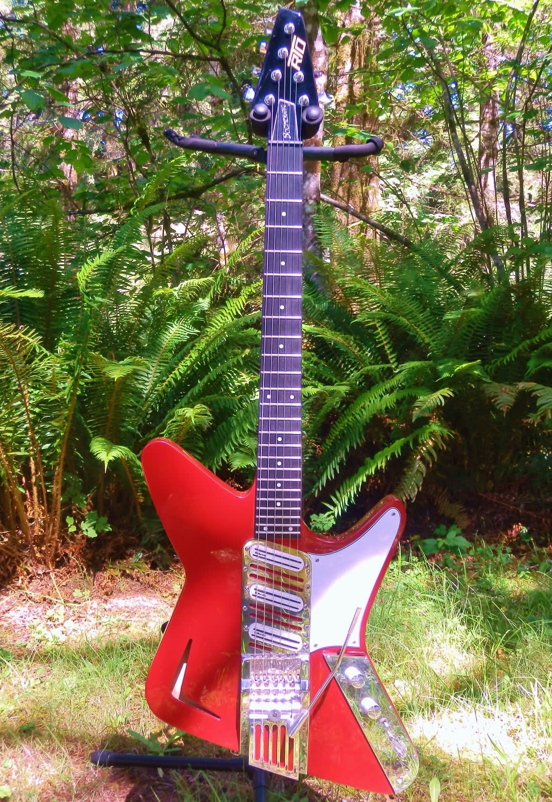 2015 Rto Boomerang With Rto Patented Tremolo System Most Reverb