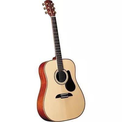 Alvarez PD80S Professional Dreadnought Acoustic Guitar Natural Satin Finish for sale