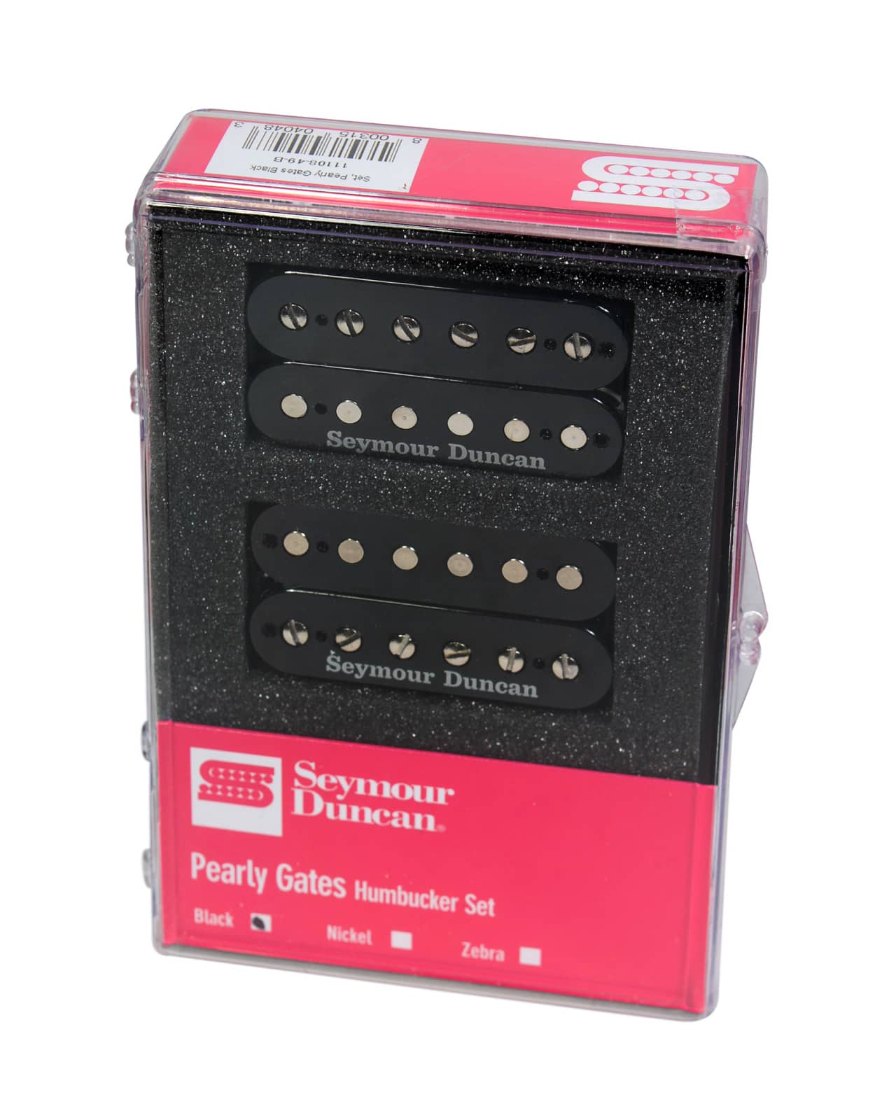 Seymour Duncan Pearly Gates Sh Pg1n 1b Guitar Pickup Set