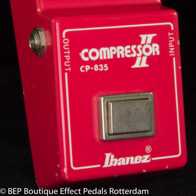 "Ibanez CP-835 Compressor II  1981 s/n 178253 Japan mounted with CA3080E op amp with ""R"" logo"
