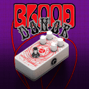 Catalinbread Effects Blood Donor Fuzz/Distortion, Limited Edition White