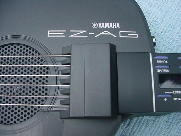 yamaha ez ag digital midi electric easy teaching guitar with reverb. Black Bedroom Furniture Sets. Home Design Ideas