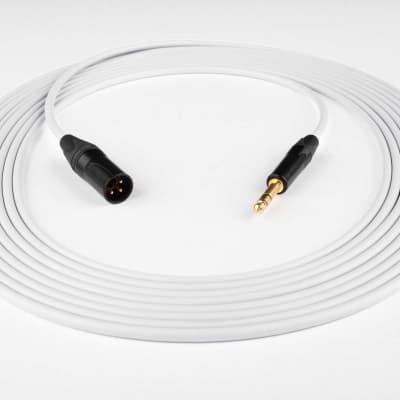 3ab3308ec 30' Canare L-4E6S Quad Balanced Cable Neutrik Gold XLR Male to 1/