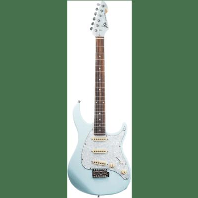 Peavey Raptor® Custom Columbia Blue Electric Guitar for sale