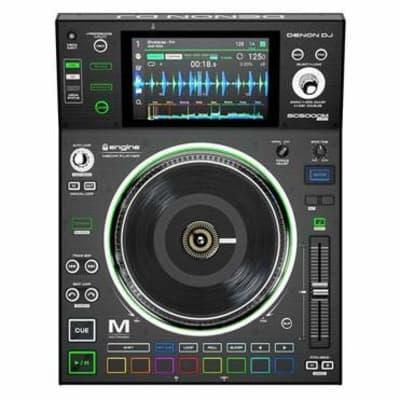 "Denon DJ SC5000M   Professional DJ Media Player with Motorised Platter, 7"" Multi-Touch Display, Mult"