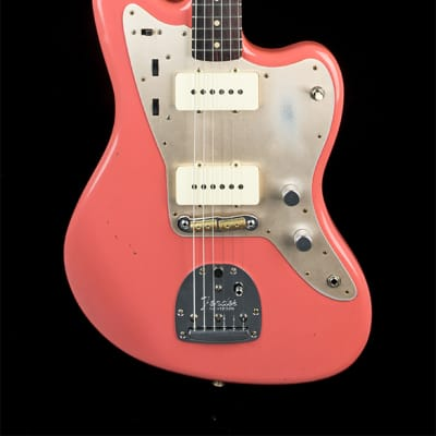 Fender Custom Shop 1959 Jazzmaster Journeyman Relic - Super Faded Aged Fiesta Red #40924