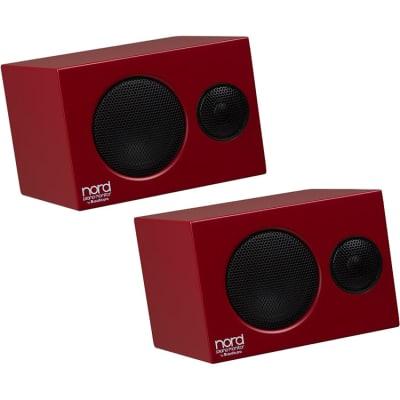 Nord Piano Monitors V2 (Red, Pair, B-Stock)