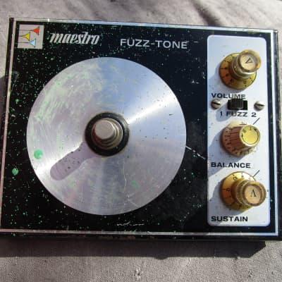 Maestro Fuzz-Tone 1971 FZ-1S  Original RARE for sale