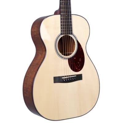 Huss & Dalton T-0014 Custom Adirondack Spruce / Master Grade Flamed Koa #5534 for sale
