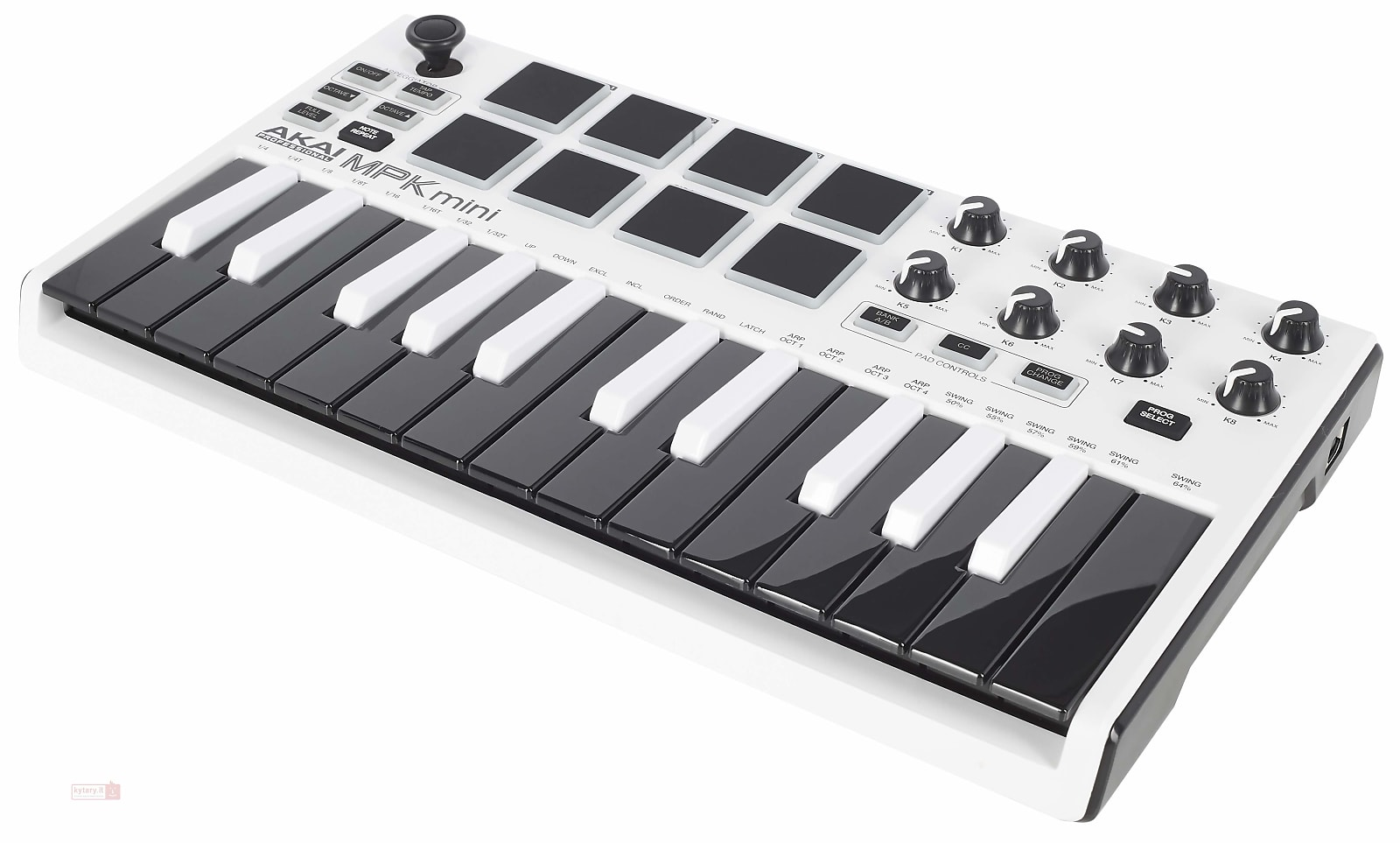 Akai Professional MPK Mini mkII Keyboard Controller White with Reverse Keys