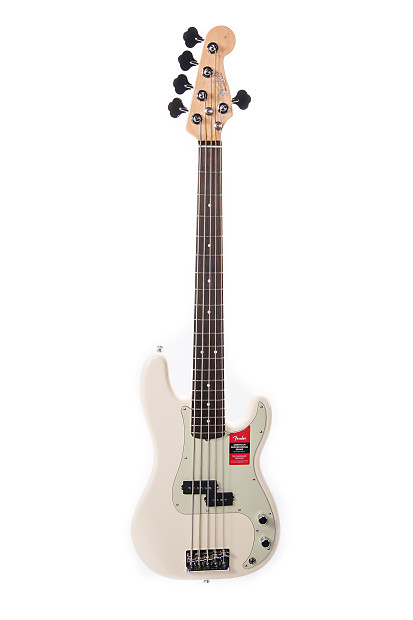 fender american professional p bass v rw olympic white reverb. Black Bedroom Furniture Sets. Home Design Ideas