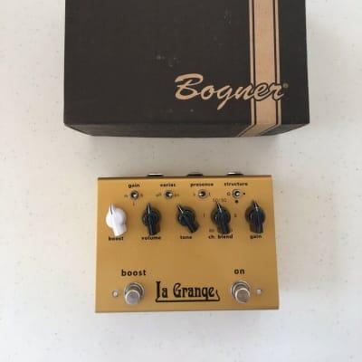 Bogner Amplification La Grange Plexi Overdrive Boost Booster Guitar Effect Pedal