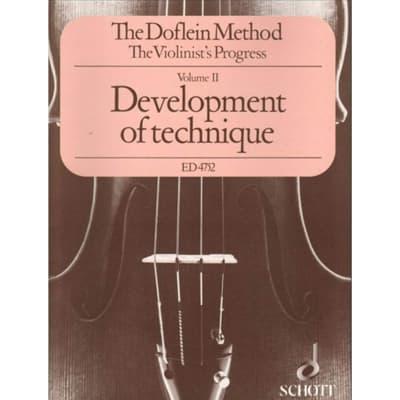 The Doflein Method: The Violinist's Progress - Volume 2: Development of Technique